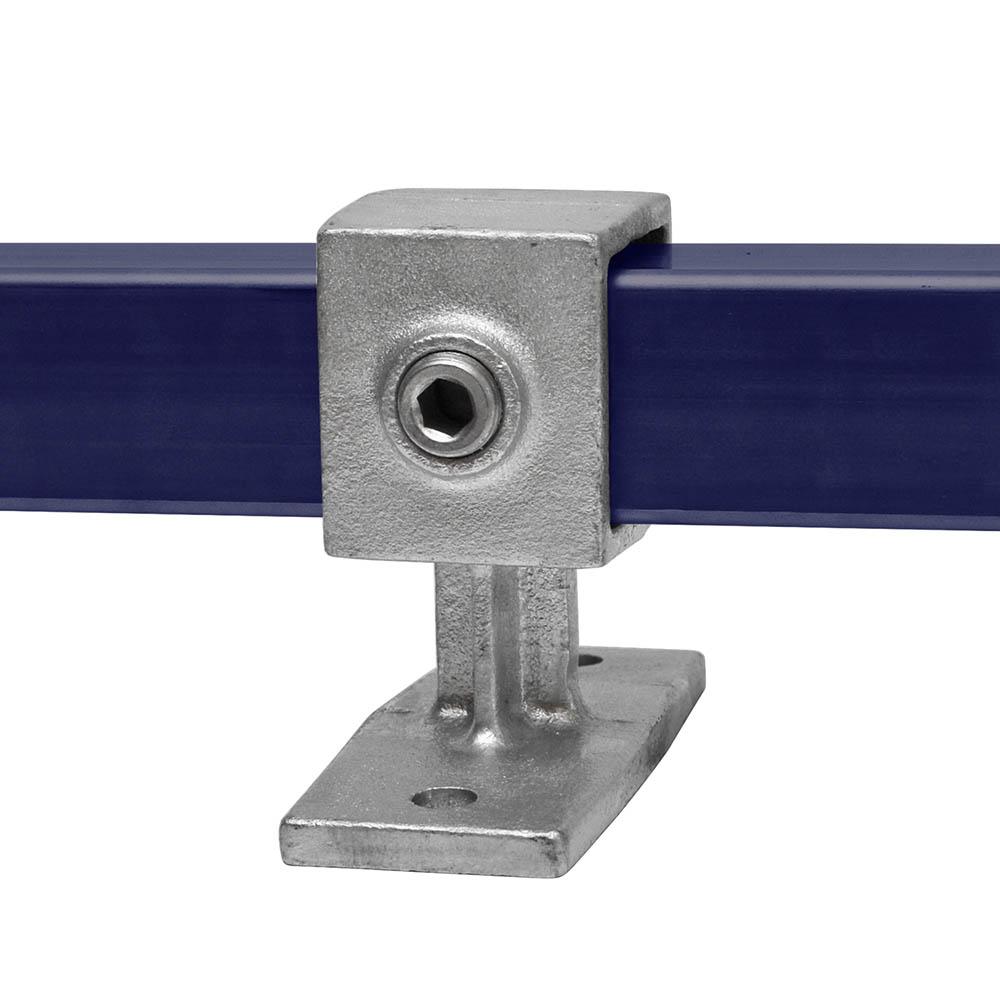 Handlaufhalterung für quadratische Rohre- 40 mm