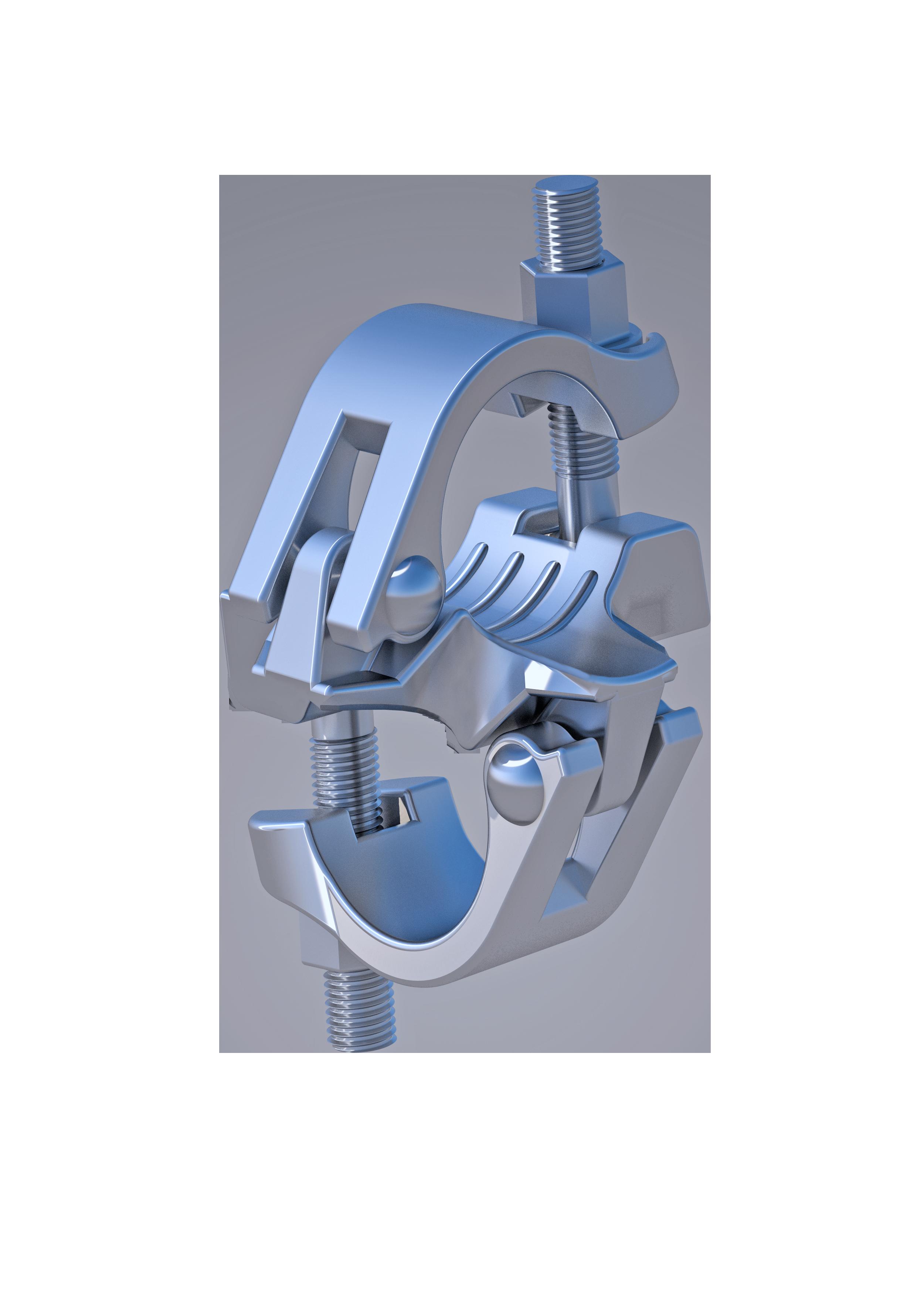 Reduzier-Normalkupplung, 48.3 mm,  x  34 mm