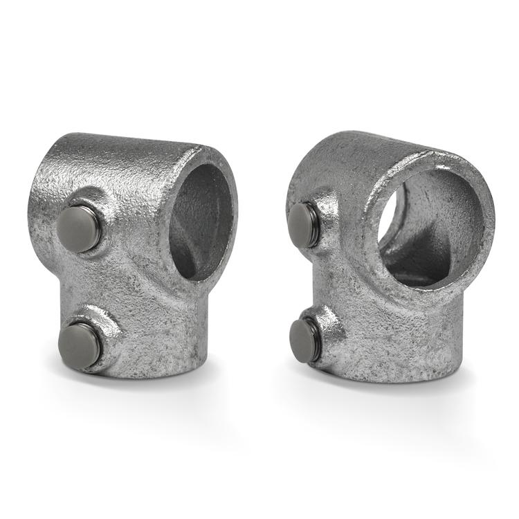 Kunststoff Schraubverschluss grau  für A