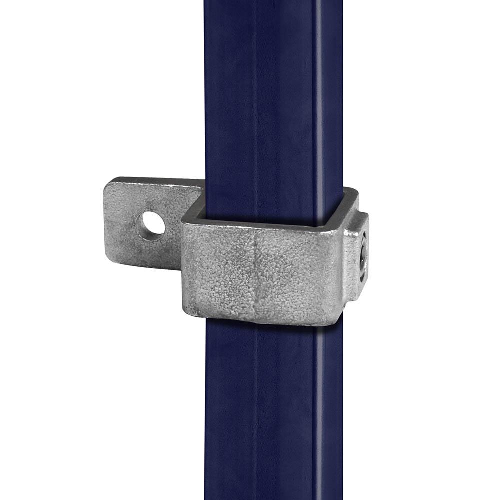 Rohrverbinder für Plattenbefestigung für quadratische Rohre - 40 mm