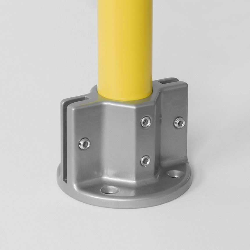 Bodenlager Aluminium 40mm
