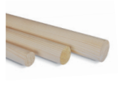 Runder Holzpfahl Ø 42,4 mm x 390 cm