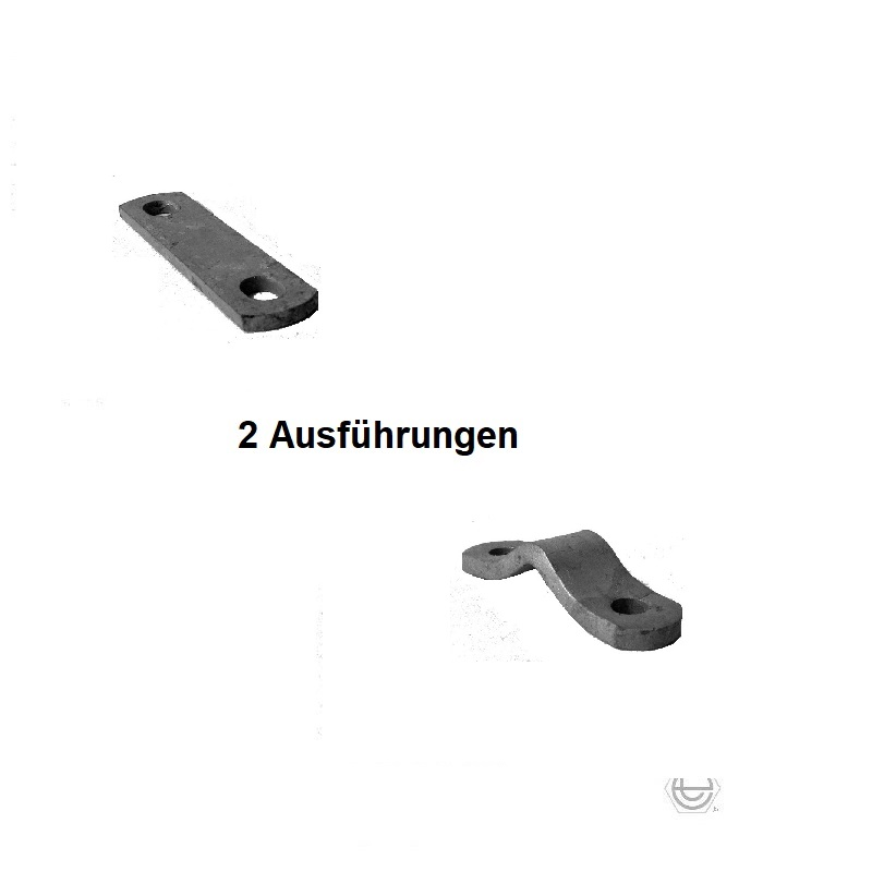 "Stege passend zu Rohrbügel,  1/2"" (21,3 mm)"