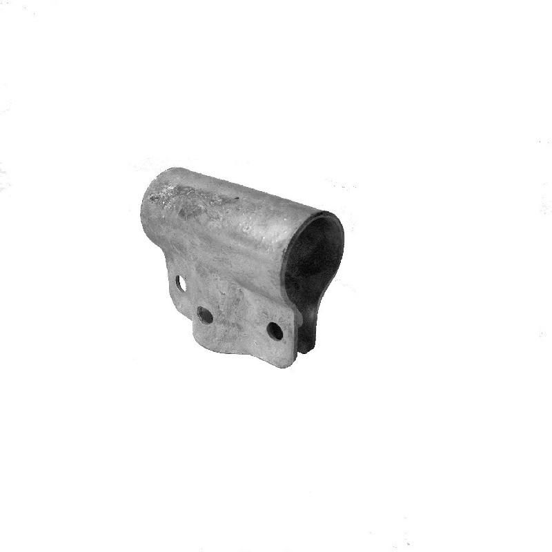 "T-Schelle geschlossen 90°, Mischgrösse, 1 1/4"" x 1"" (42.4 mm x 33.7 mm)"