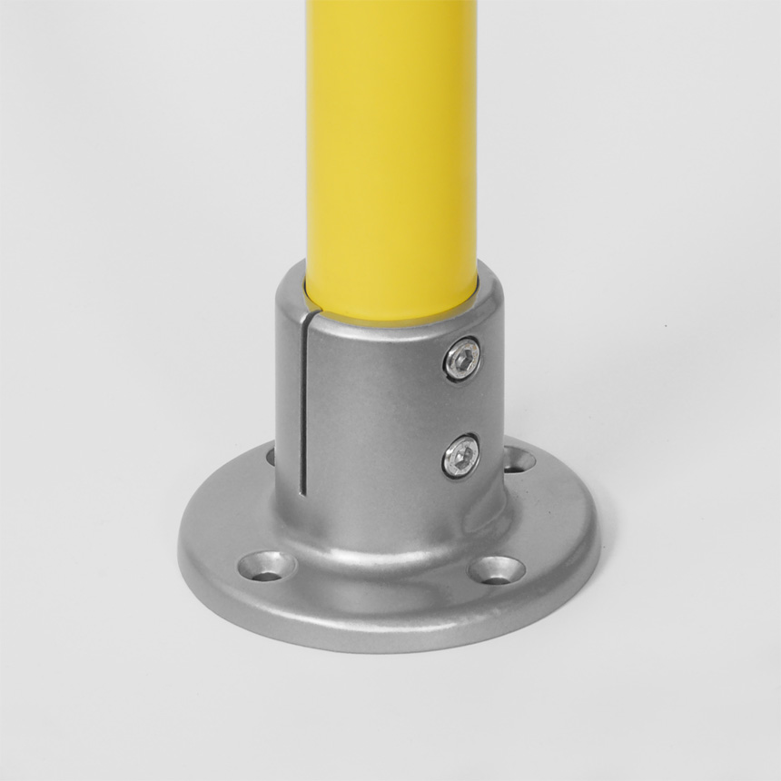 Boden- und Deckenlager Aluminium 30mm