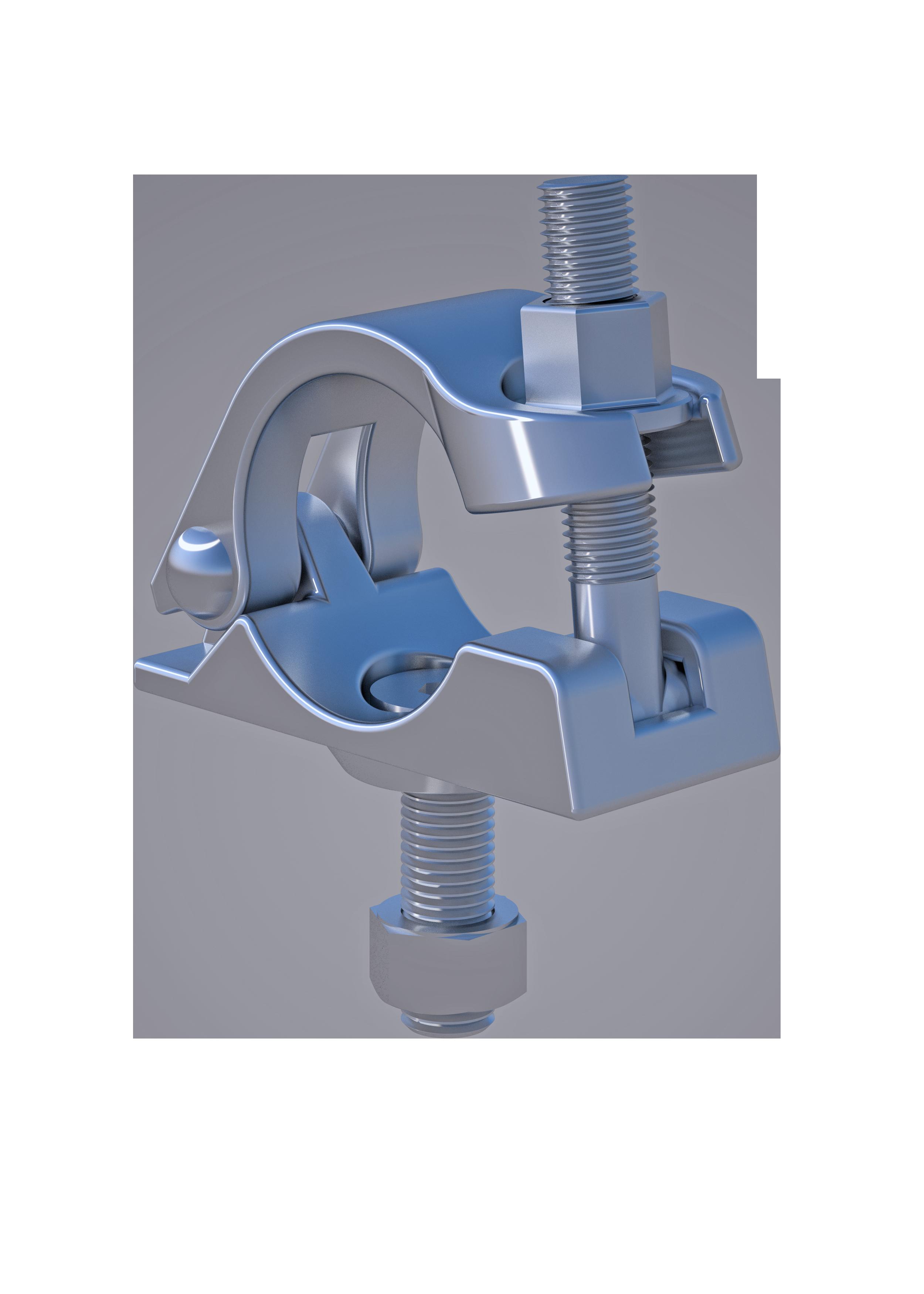 Anschraubkupplung, 48.3 mm, SW 22mm