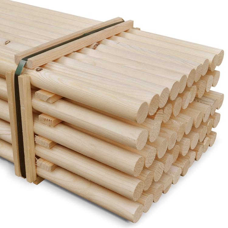 Runder Holzpfahl Ø 33,7 mm x 390 cm