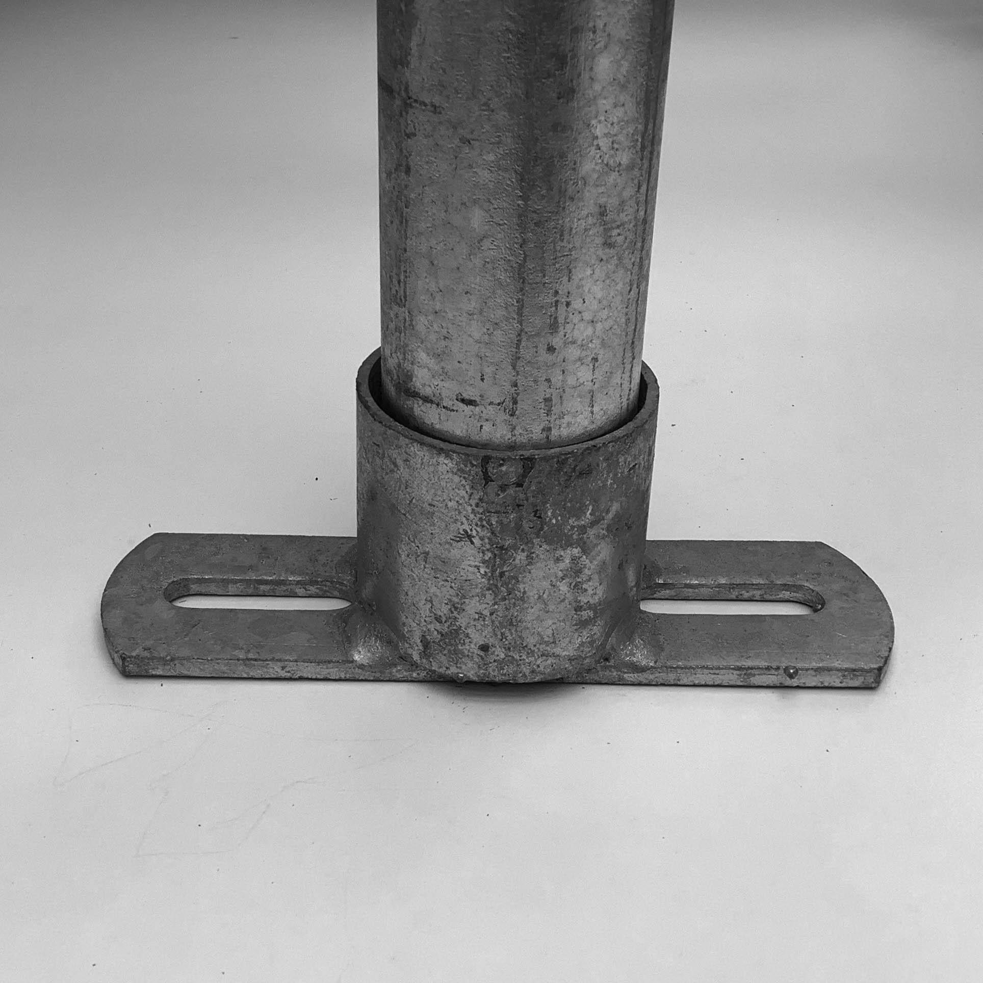 """Befestigungs-Platte, 1/2"""", (21.3 mm)"""