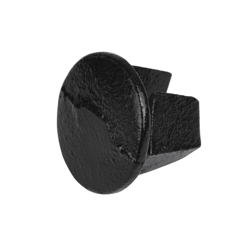 "Stopfen, Metall schwarz 48,3 mm (1½"")"