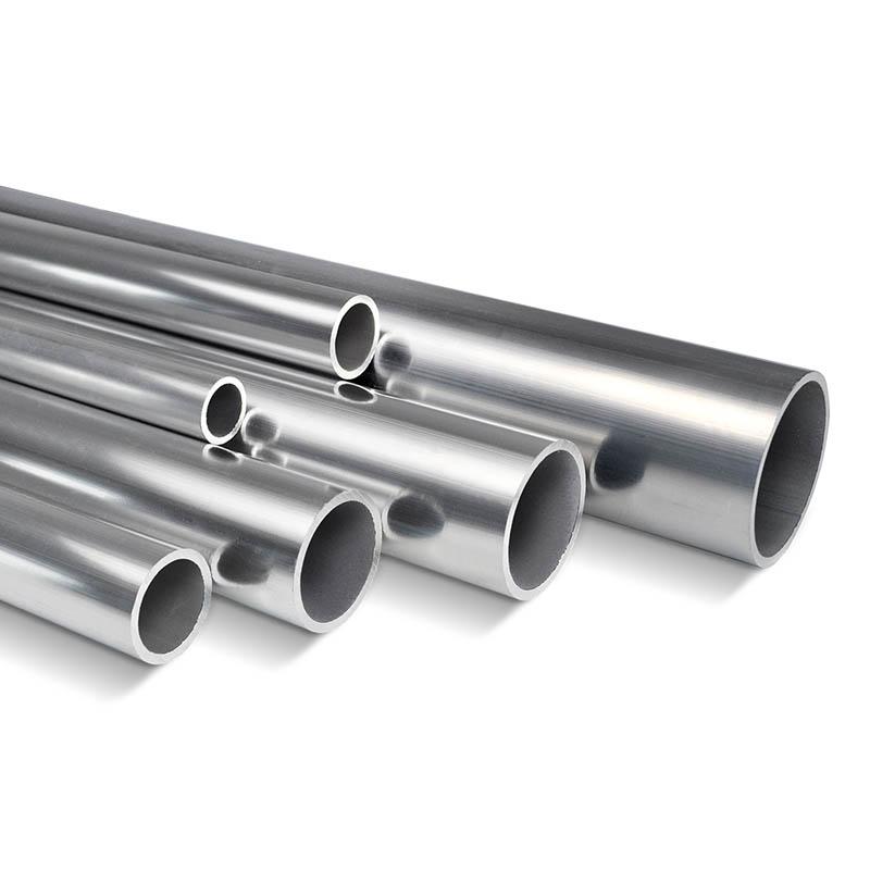 Alurohr 40x32mm. WS 4mm, AW-6060, Alu roh, Preis/Meter