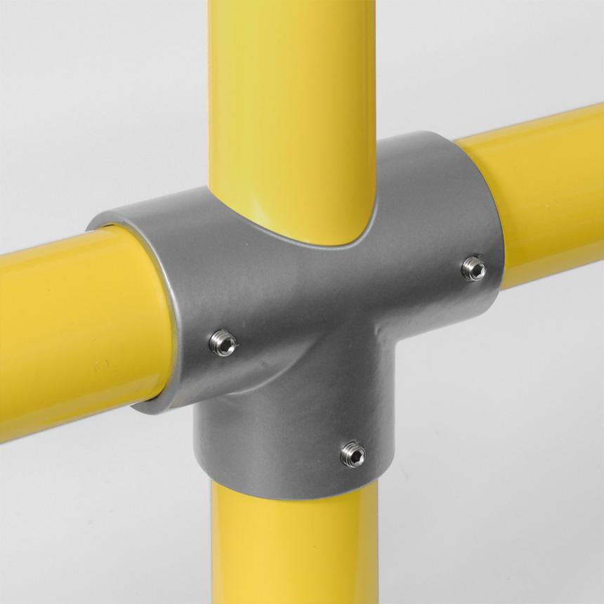Kreuz-Verbinder Aluminium 60mm