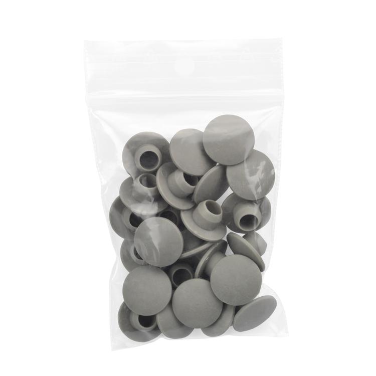 Kunststoff Schraubverschluss grau für B / C