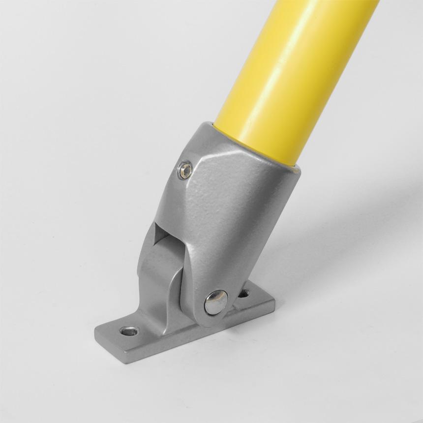 variable Stütze Aluminium 40mm
